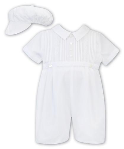 White Bubble & Hat Set