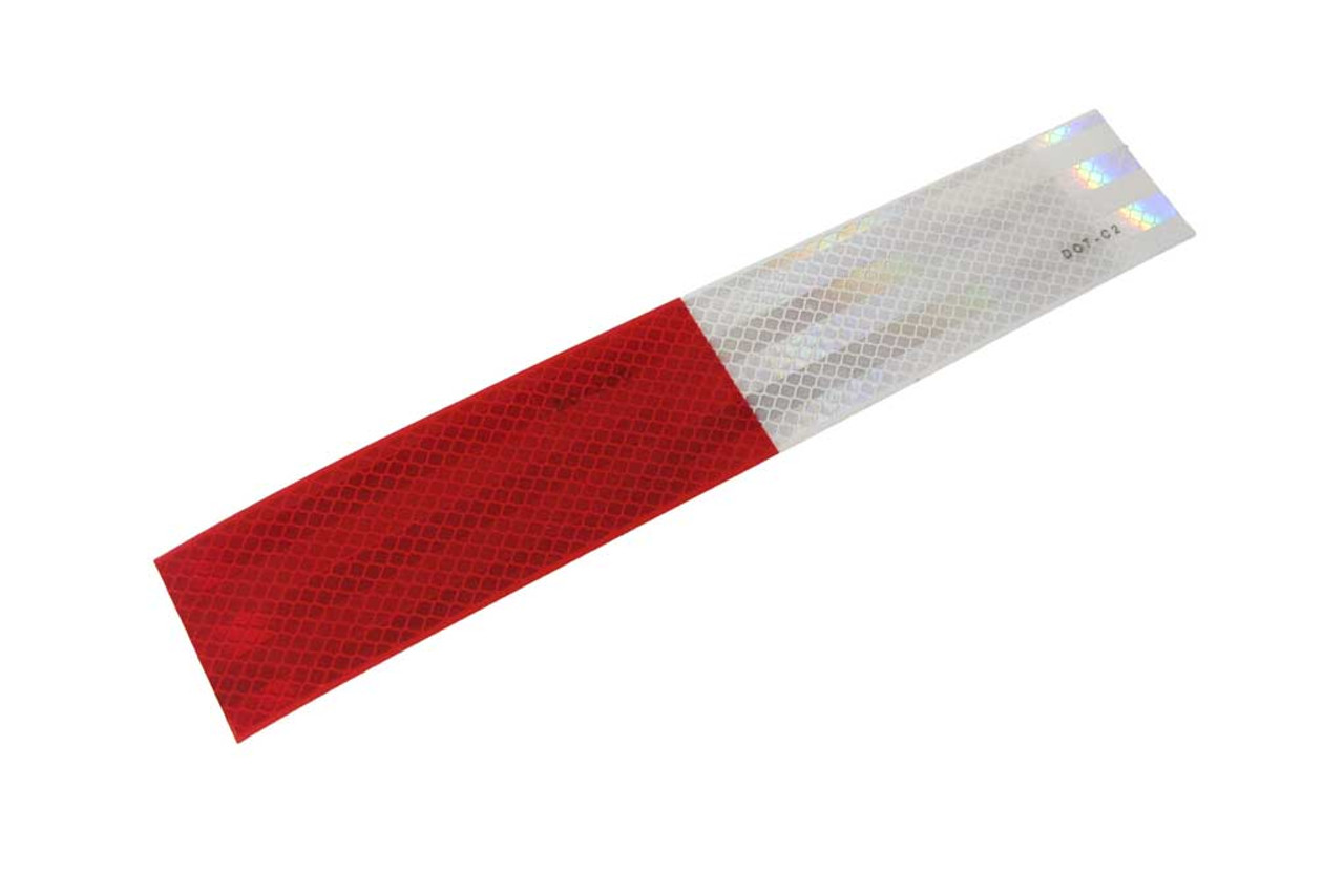"""Tape, Ref. 2"""" X 12"""" 6/6 Red/Wh"""