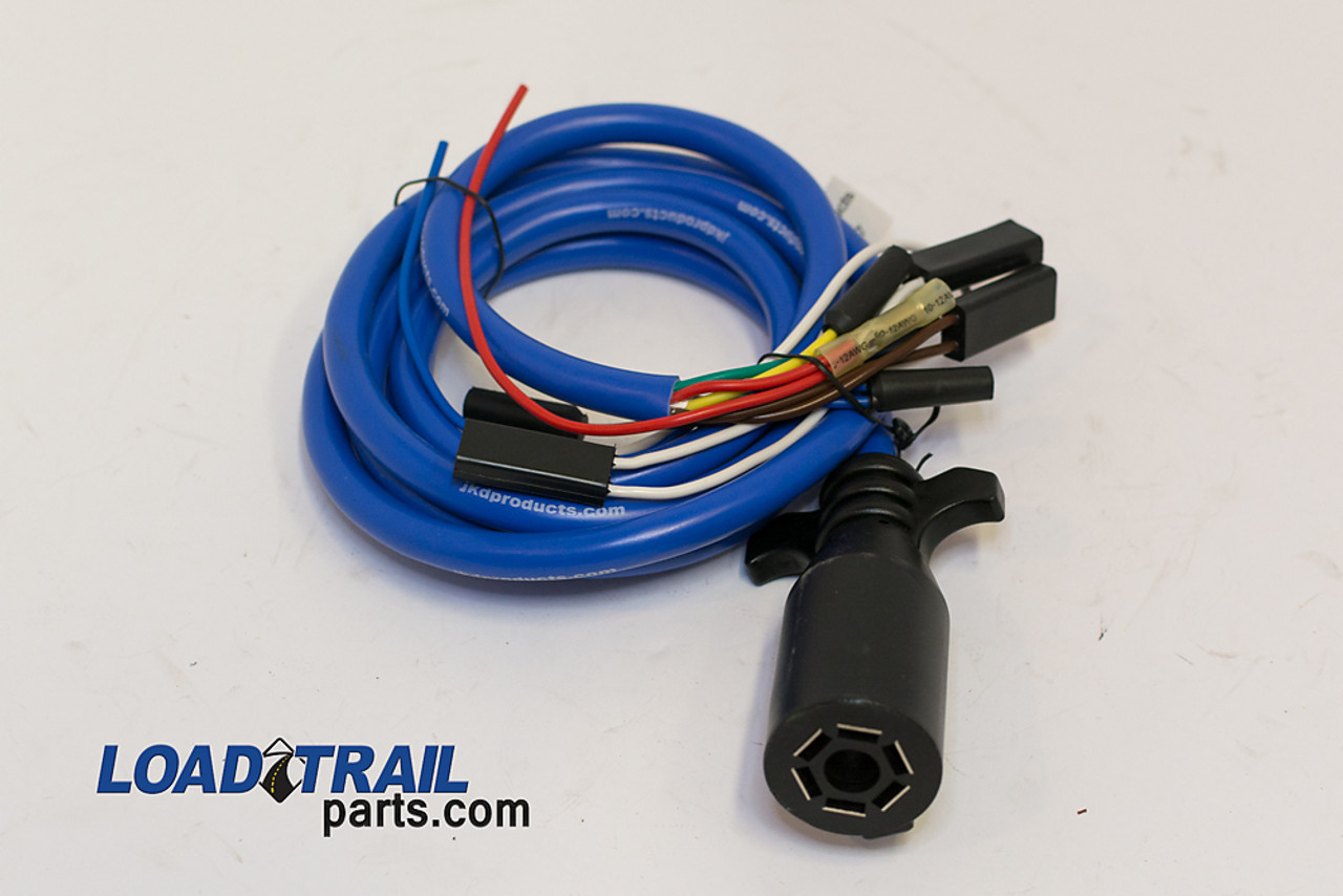 wire & wiring harness wiring harness pn615988 cold weather wire harness extension 7 way plug (090010)
