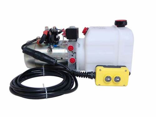 3 Quart KTI Double Acting Hydraulic Pump