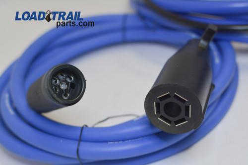 Front Polar Cord W/7-Way RV Plug | Bumper Pull