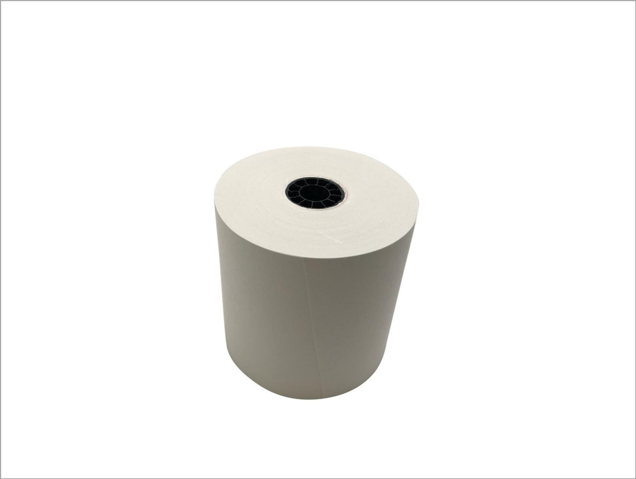 "76mm x 50m 1-Ply Bond Paper 50 rolls//case 3/"" x 165/'"