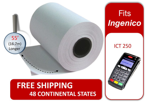 Credit Card Paper Roll Ingenico ICT 250 Receipt Paper