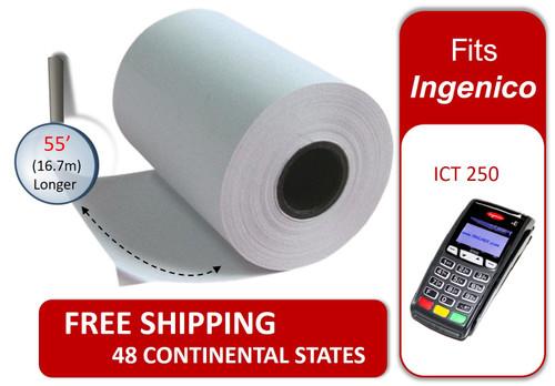 Credit Card Paper Roll Ingenico ICT 250 Receipt Paper