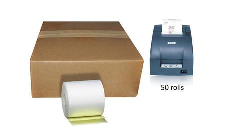 2 ply Carbonless Kitchen Order Copy Paper Epson Kitchen Printer