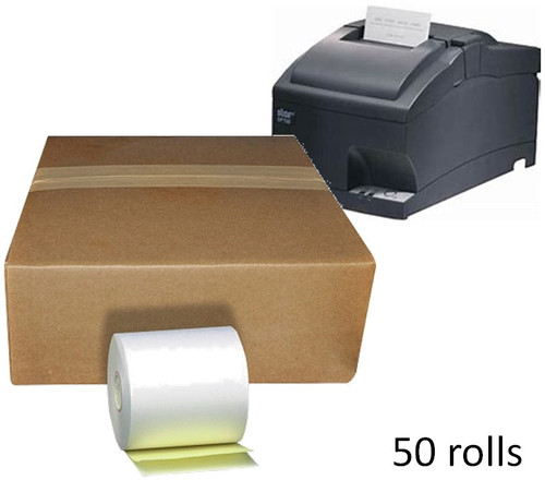 Receipt Paper 2 ply Copy for Star SP700 Kitchen Printer