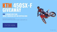 Press Release: Sweet Life is Giving Away a 2021 KTM 450SX-F
