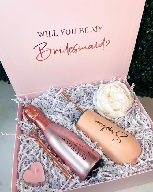 Pop the Bubbly Bridal Party Gift Set