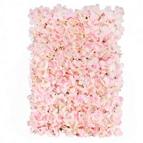 pink flower wall panels