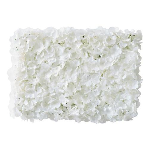 Flower Wall Backdrop White