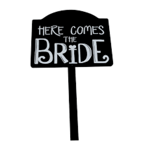 Wedding, Here comes the Bride Sign