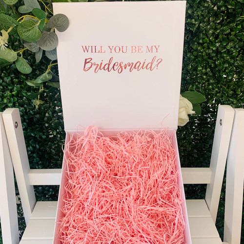 Personalised Bridal Box - Medium White
