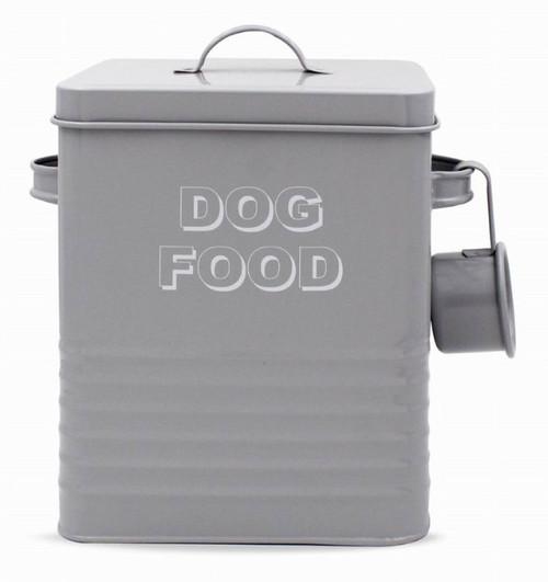 Metal Dog Food Tin
