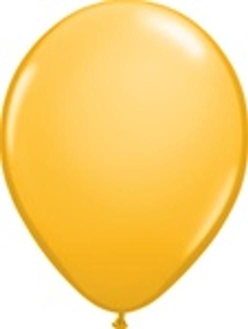 "11"" LATEX GOLD (6PK)"