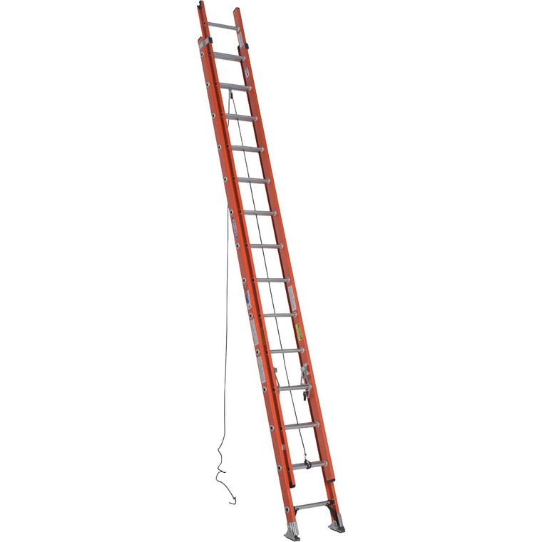 Werner #D6228-2 28 Ft. Fiberglass Extension Ladder Type 1A 300 Lbs.