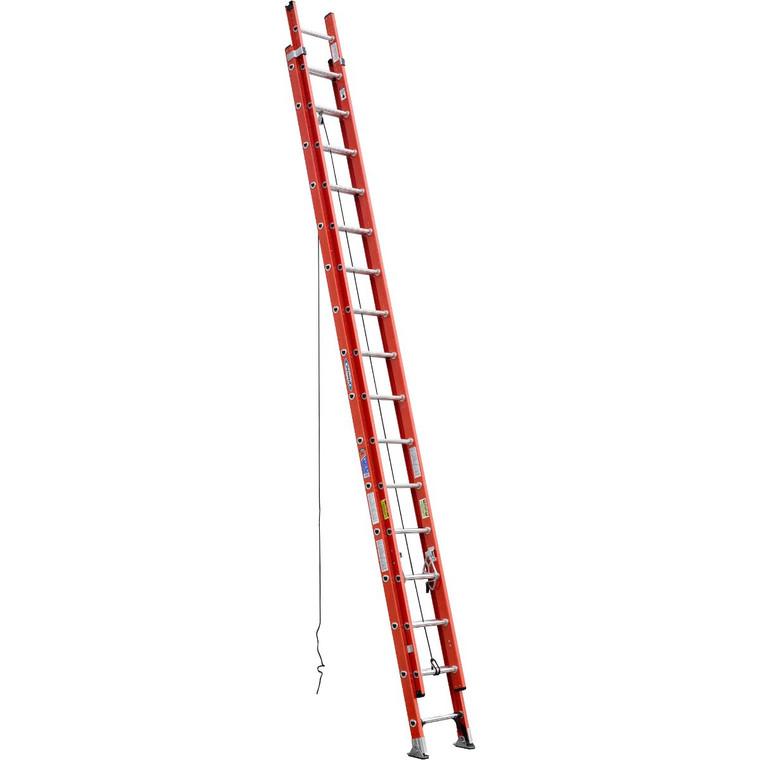 Werner #D6232-2 32 Ft. Fiberglass Extension Ladder Type 1A 300 Lbs.