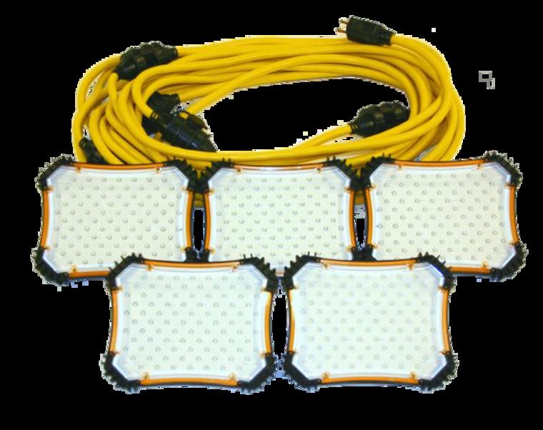 CEP 97135 50 Ft. LED Light String 18/2 SJTW - 900 Lumen
