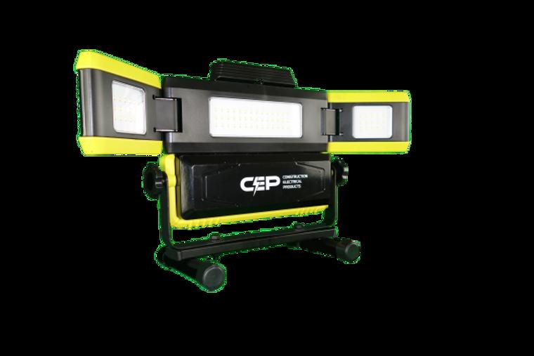 CEP 7220 50 Watt Rechargable LED WING Light - 4000 Lumen