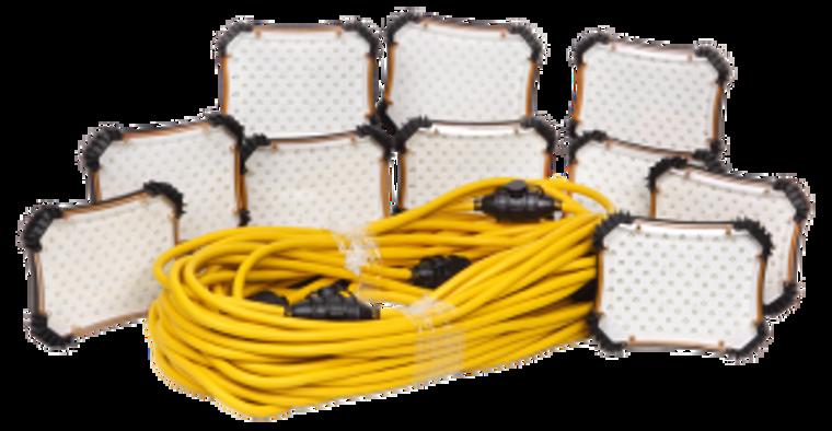 CEP 97132 100 Ft. LED Light String 18/2 SJTW - 900 Lumen