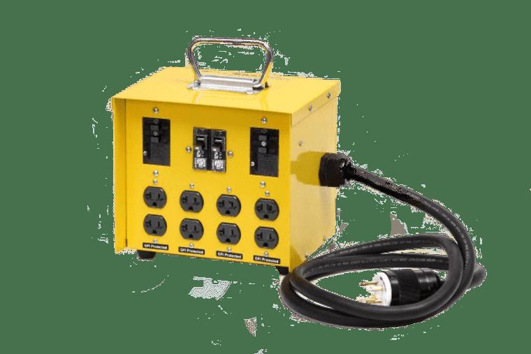 CEP #6503GU 30 Amp 125/250V GFCI Temporary Power Box