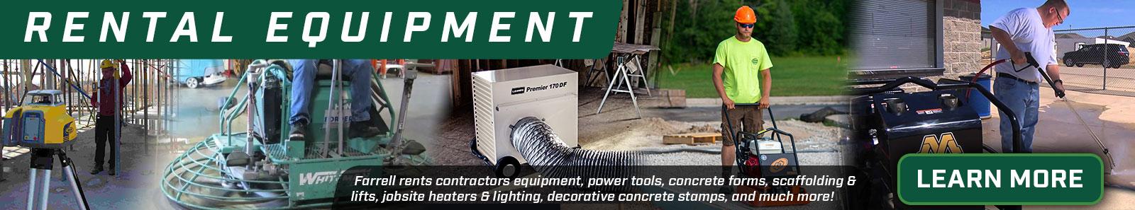 farrell equipment rental