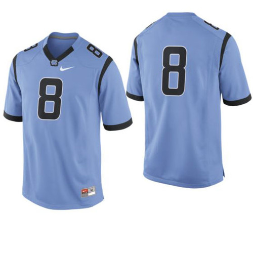 Youth football jersey #8.