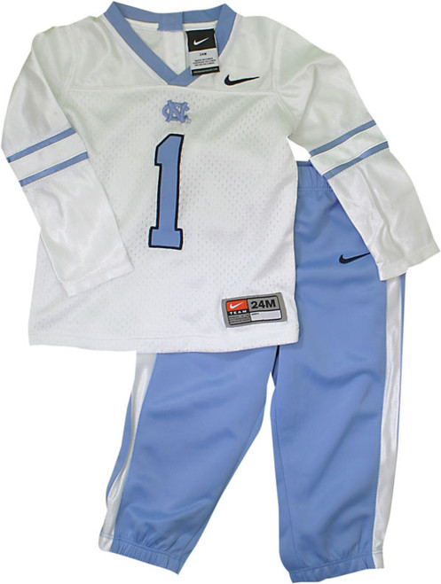 Carolina Nike Infant Football Jersey Set - #1 jersey and pants