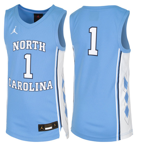 YOUTH Nike Replica Basketball Jersey - Carolina Blue #1