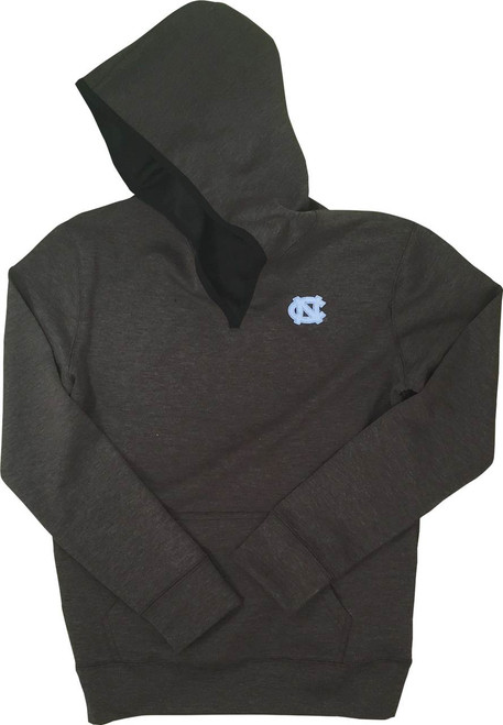 Know Wear LADIES Hooded Fleece - Dark Heather Gray