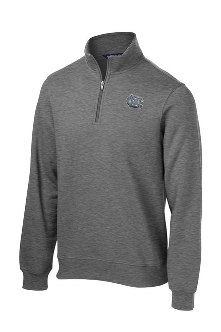 Sport-tek 1/4 Zip Fleece - Vintage Heather