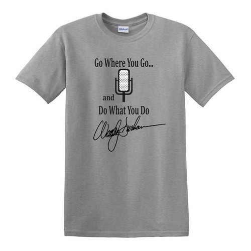 Woody Durham Go Where You Go Tee - Sport Gray Heather