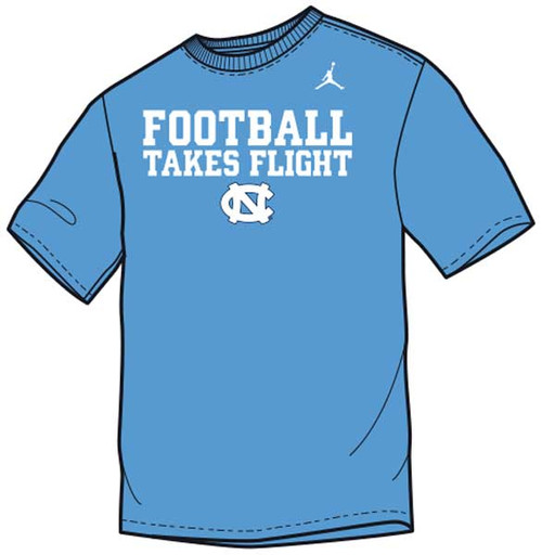 YOUTH Nike Football School Mantra Tee - Carolina Blue