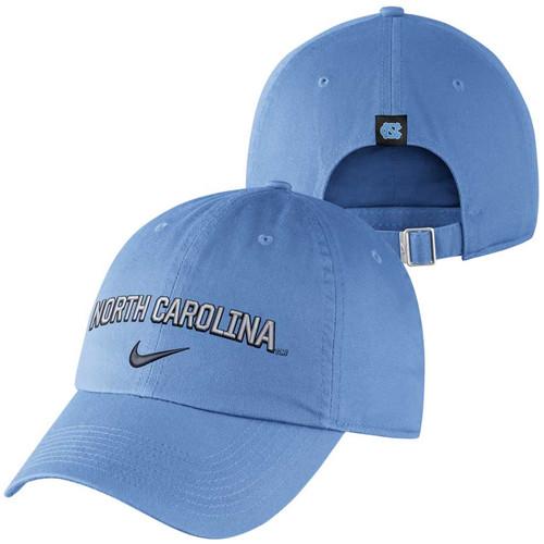 Nike H86 Wordmark Hat - Carolina Blue North Carolina
