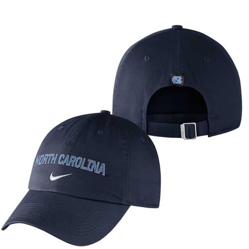 Nike H86 Wordmark Hat - Navy North Carolina
