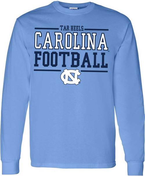 Carolina Sport Between the Lines LONG SLEEVE Tee - Football