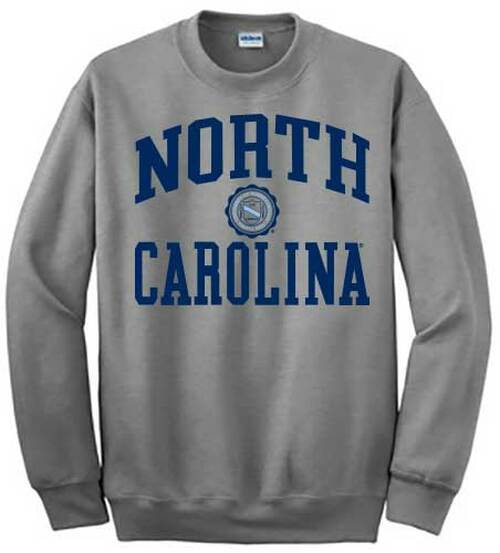 North Carolina Seal CREW - Sport Gray