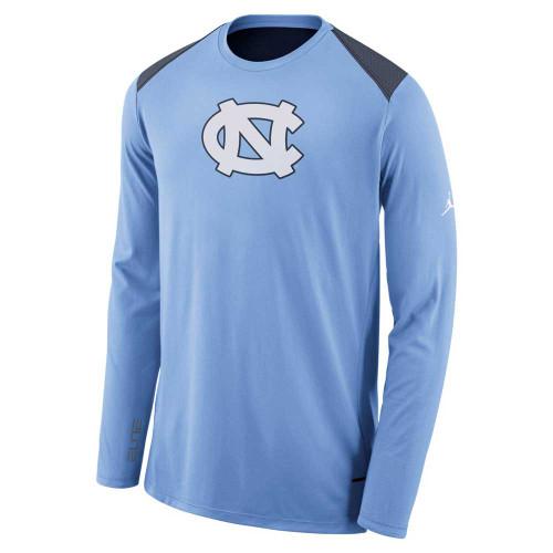 Nike Jumpman Long Sleeve Shooter - Carolina Blue