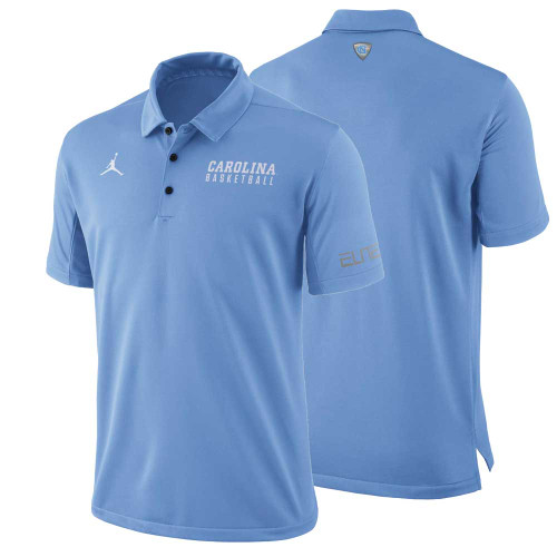 Nike Jumpman Basketball Polo - Carolina Blue