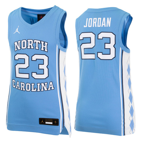 Nike YOUTH Basketball Jersey - Carolina Blue #23