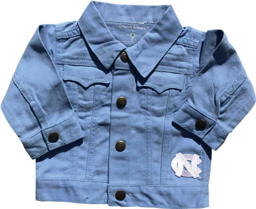 Creative Knitwear TODDLER Denim Jacket - Carolina Blue