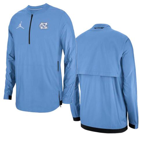 Nike Carolina Lockdown 1/2 Zip Jacket - Carolina Blue