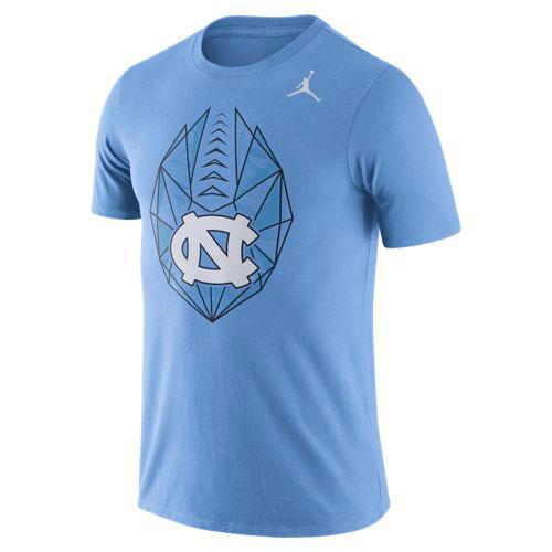 Nike Football Icon Tee - Carolina Blue