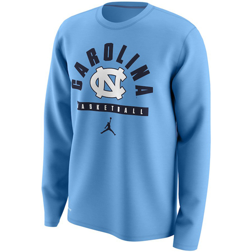 Nike Jordan Legend Basketball LONG SLEEVE Tee - Carolina Blue