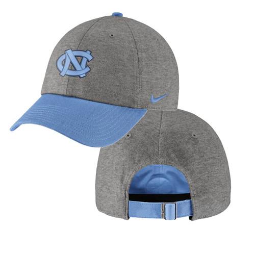 Nike Carolina Heritage 86 Hat - Heathered Gray and Blue