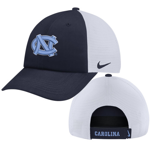 Nike Carolina Heritage 86 Trucker Hat - Navy