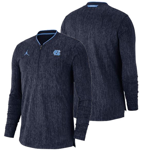 Nike Jumpman Coach's Half Zip Top - Heather Navy