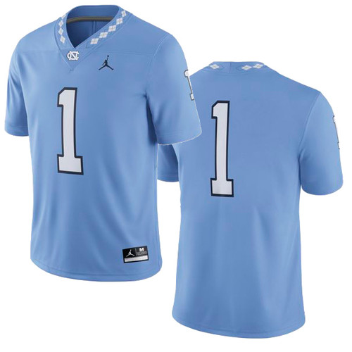 TODDLER Nike Football Jersey - Carolina Blue #1