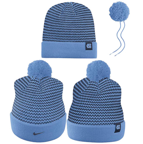 Ladies Nike Carolina Striped Beanie