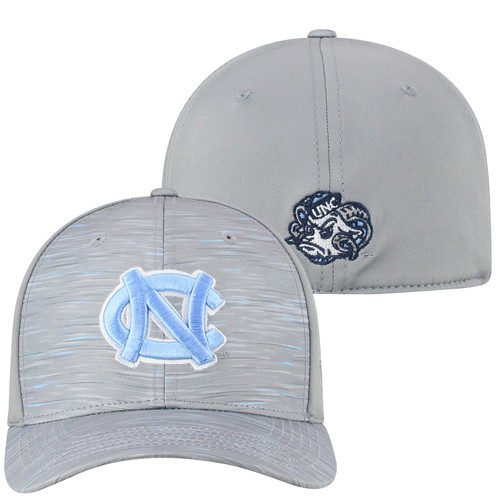 YOUTH Top of the World Carolina Heathered Gray Hat - Hyper