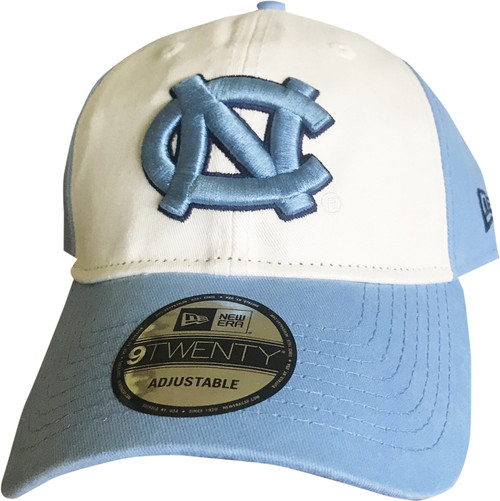 New Era Core Classic Hat - Two Tone Carolina Blue White
